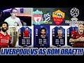 LIVERPOOL FC vs AS ROM CHAMPIONS LEAGUE FUT DRAFT!! 🔥🔥 Fifa 18 Ultimate Team - CHALLENGE MP3