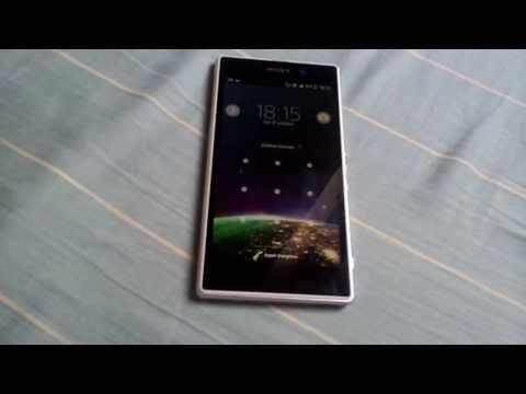 Sony Xperia Z1 touchscreen problem