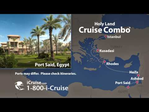 Holy Land Cruise Combo aboard Royal Caribbean Vision of the Seas. iCruise.com