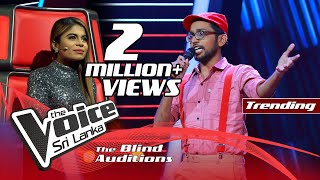 Harith Wijeratne - Hemin Sare Piya Wida  Blind Auditions | The Voice Sri Lanka