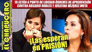 ¡AMLO inicia la cacería! Va contra Rosario Robles y Josefina Vázquez Mota