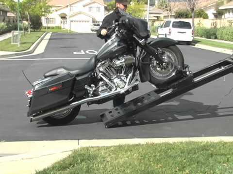 Rampage Power Lift Motorcycle Loader For Pickup Trucks