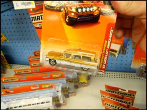 Off The Pegs: Walmart Exclusive '63 Cadillac Ambulance