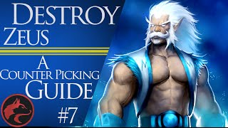 How to counter pick Zeus - Dota 2 Counter picking guide #7