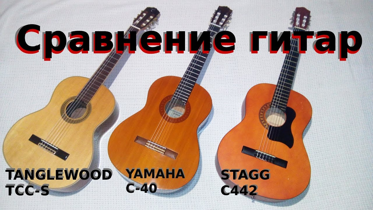 Рисунки классических гитар
