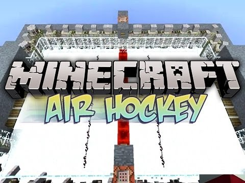 Minecraft Air hockey Minigame W/ Cupquake &amp; Chim
