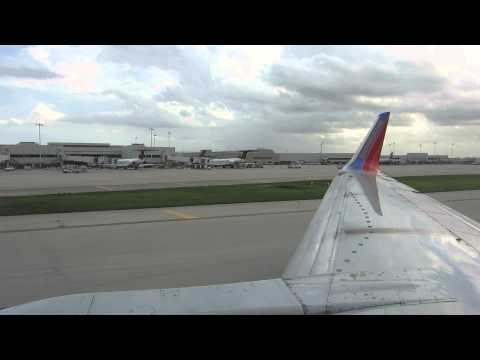 Southwest Airlines 737-300 Landing Ft. Lauderdale