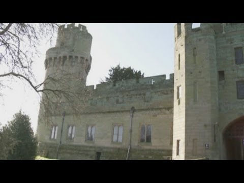 Secret rooms uncovered at Warwick Castle. UK