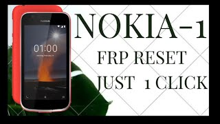 NOKIA 1 TA-1066 FRP RESET BY CM2 | NEW EASY TRICK !!!!
