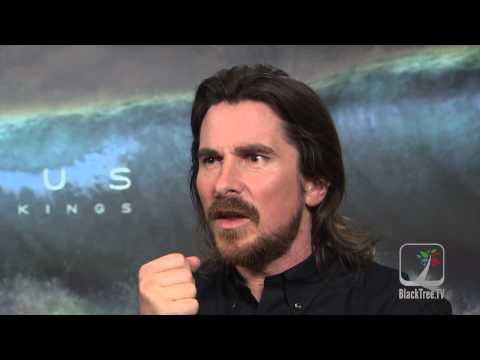 EXODUS:  Christian Bale and Ridley Scott discuss making films and Ferguson