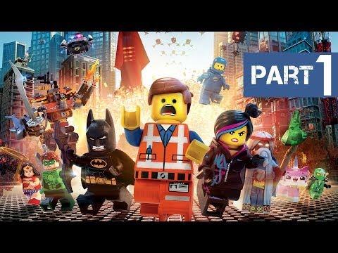 The LEGO Movie Videogame Walkthrough Part 1 (Gameplay Walkthrough)
