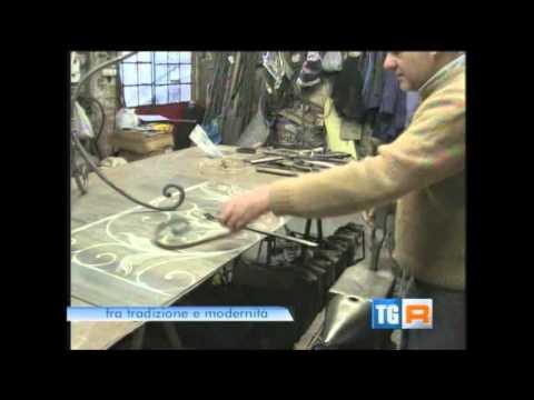 TGR Liguria Colpi di Martello Artigiani del Ferro Battuto forgiato a mano