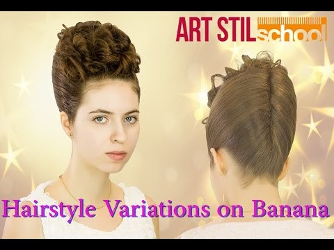 Hairstyle Variations on Banana