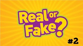 REAL OR FAKE #2 | PHOTO GUESSING GAME!!