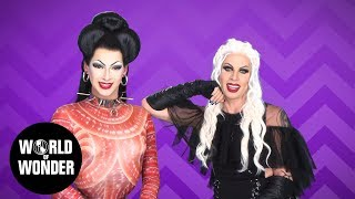 FASHION PHOTO RUVIEW: AVN Red Carpet with Violet Chachki & Katya!