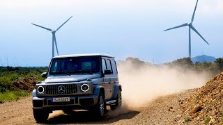 First Off-Road Test of 2019 Mercedes G Wagon!