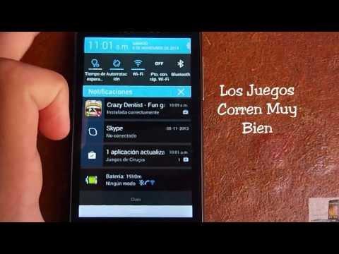 Alcatel OneTouch M´Pop  En Español