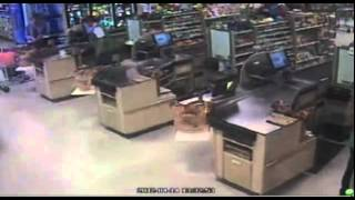 """Unedited: Full """"clear """" Video of car crashing into Publix (graphic)"""