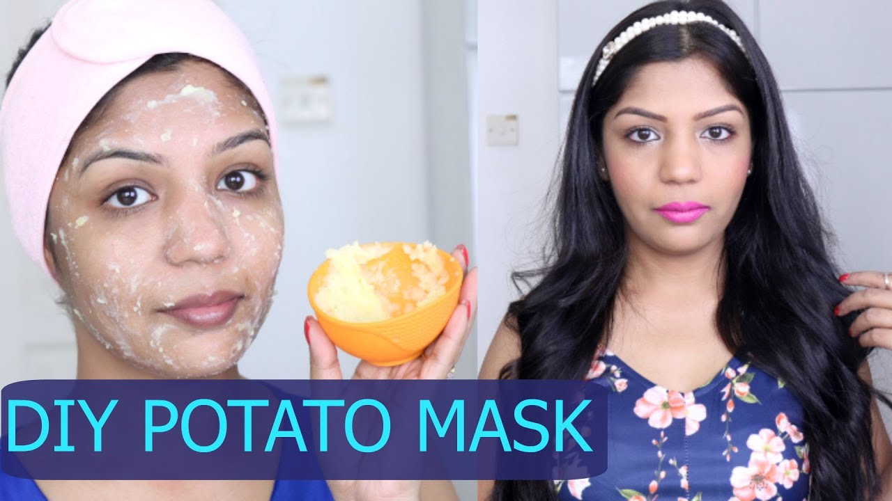 Potato Skins Diy Potato Face Mask For Skin