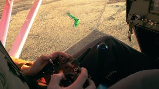 I threw an RC plane out of my real plane, and flew it! - VLOG