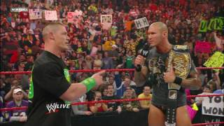 New WWE Champion Randy Orton and John Cena address Hell in