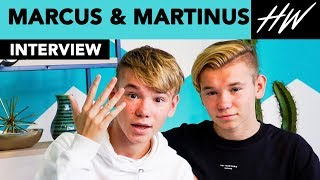 Marcus & Martinus Are So CUTE They Teach Us Their Iconic Dance Moves! | Hollywire