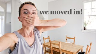 First Day In Our NEW HOUSE! Unpacking & Organizing