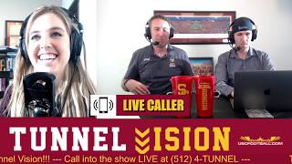 Tunnel Vision - USC Spring Ball and Pro Day