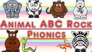Animal ABC Phonics Rock Song: Learn Phonics, Letters and Animals