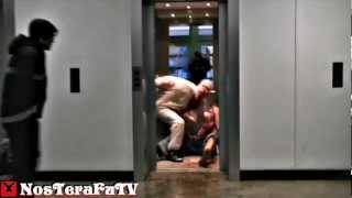 ZOMBIE ELEVATOR PRANK (Remi Gaillard Style)