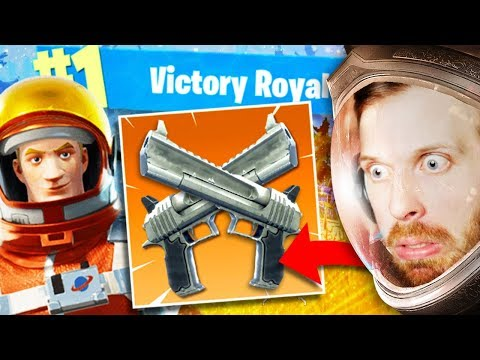 *NEW* DOUBLE HAND CANON?! EASY WIN in Fortnite: Battle Royale! (Season 3)