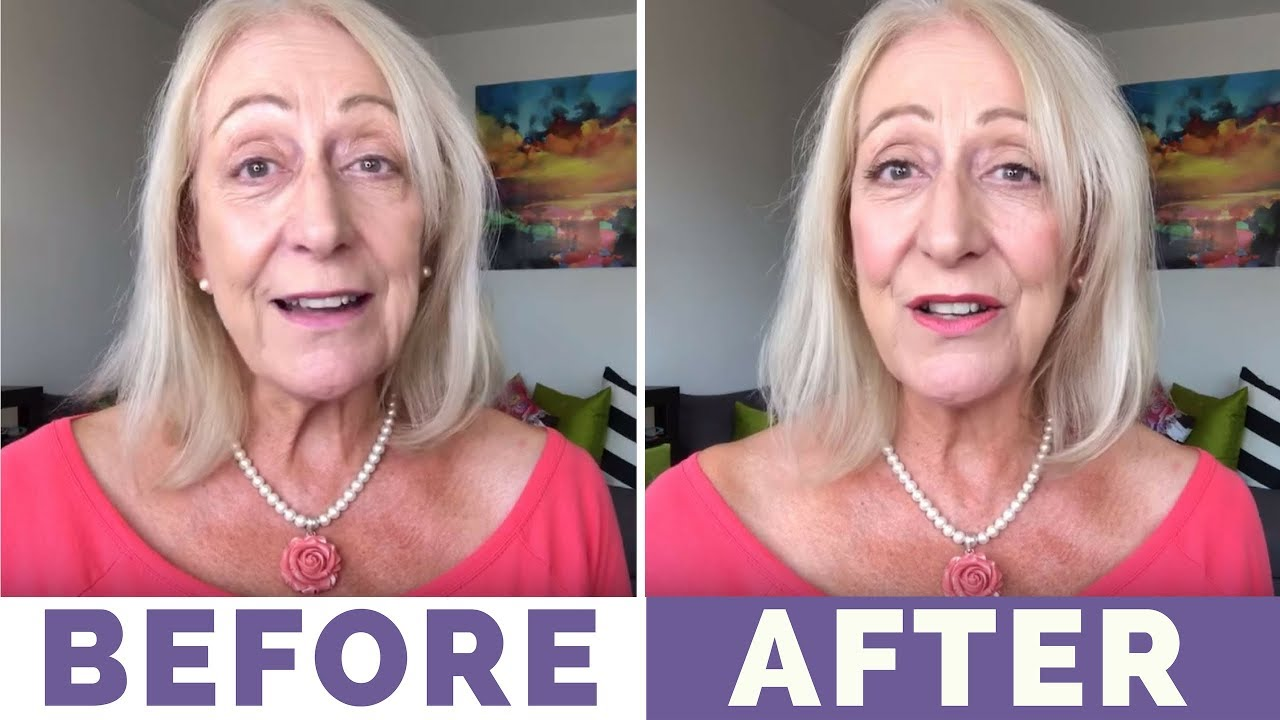 Makeup for 60 year olds