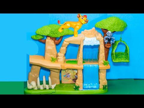 LION GUARD Disney Lion Guard Pride Lands Kion Play Set Lion Guards Video Toy Unboxing
