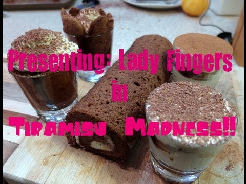 Lady Finger Tutorial with Pastry Chef Online