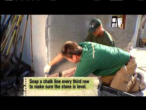 Eldorado Stone on DIYNetwork Yard Crashers