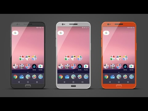 Creating Android Cell Phone In Photoshop cc