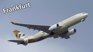 Planespotting at Frankfurt Airport FRA: A380, 747-8, 777, A330, 787, 767, 757 [Full HD]