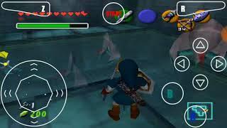 "The Legend of Zelda ocarina of time guía CAP 14 ""medallón del agua, flechas de fuego"""