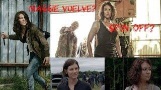 ¿Lauren Cohan vuelve a the walking dead?