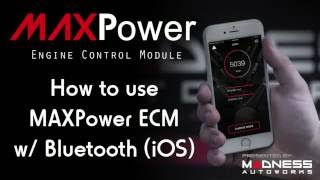 How to use the MAXPower ECM w/ Bluetooth - iOS