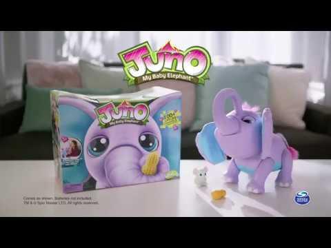 Interaktiv Baby Elefant Juno