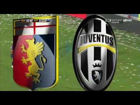 Genoa - Juventus 2-2 Il gol di Iaquinta