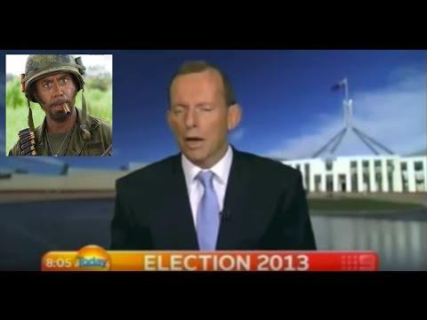 Tony Abbott Goes Full Retard