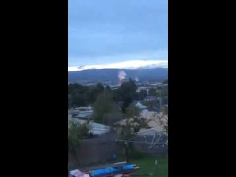 New Explosision near Morwell 4/4/2014