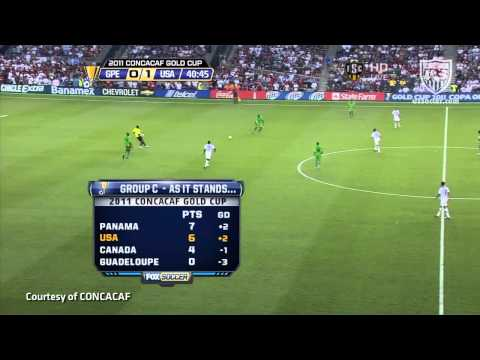 June 14, 2011: MNT vs. Guadeloupe - Highlights