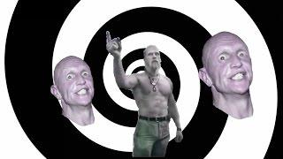 Techno Viking vs Gurn Man (old school techno dance battle) HD