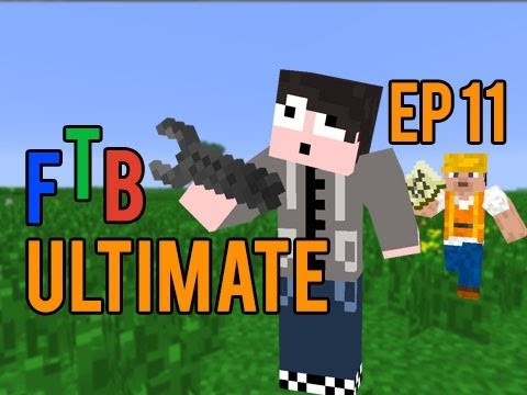 Minecraft: FTB Ultimate Pack - Episode 11 - Souls and Portals