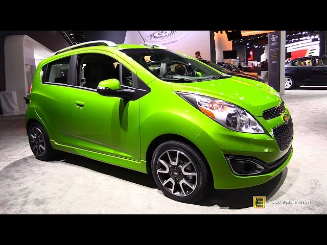 2015 Chevrolet Spark - Exterior and Interior Walkaround - 2015 Detroit Auto Show