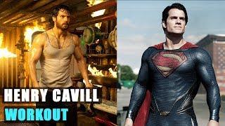 Henry Cavill SUPERMAN training | Hard Workout