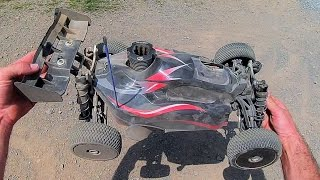 Hobao Hyper SS Nitro Buggy - My Glow Plug Blew Out Of The Head!!!